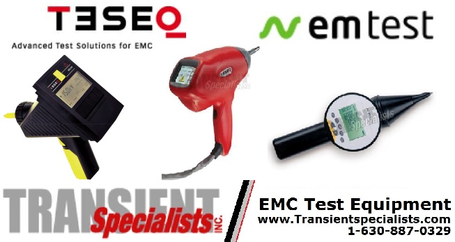 ESD Simulator Purchases - Teseq & EM Tes...