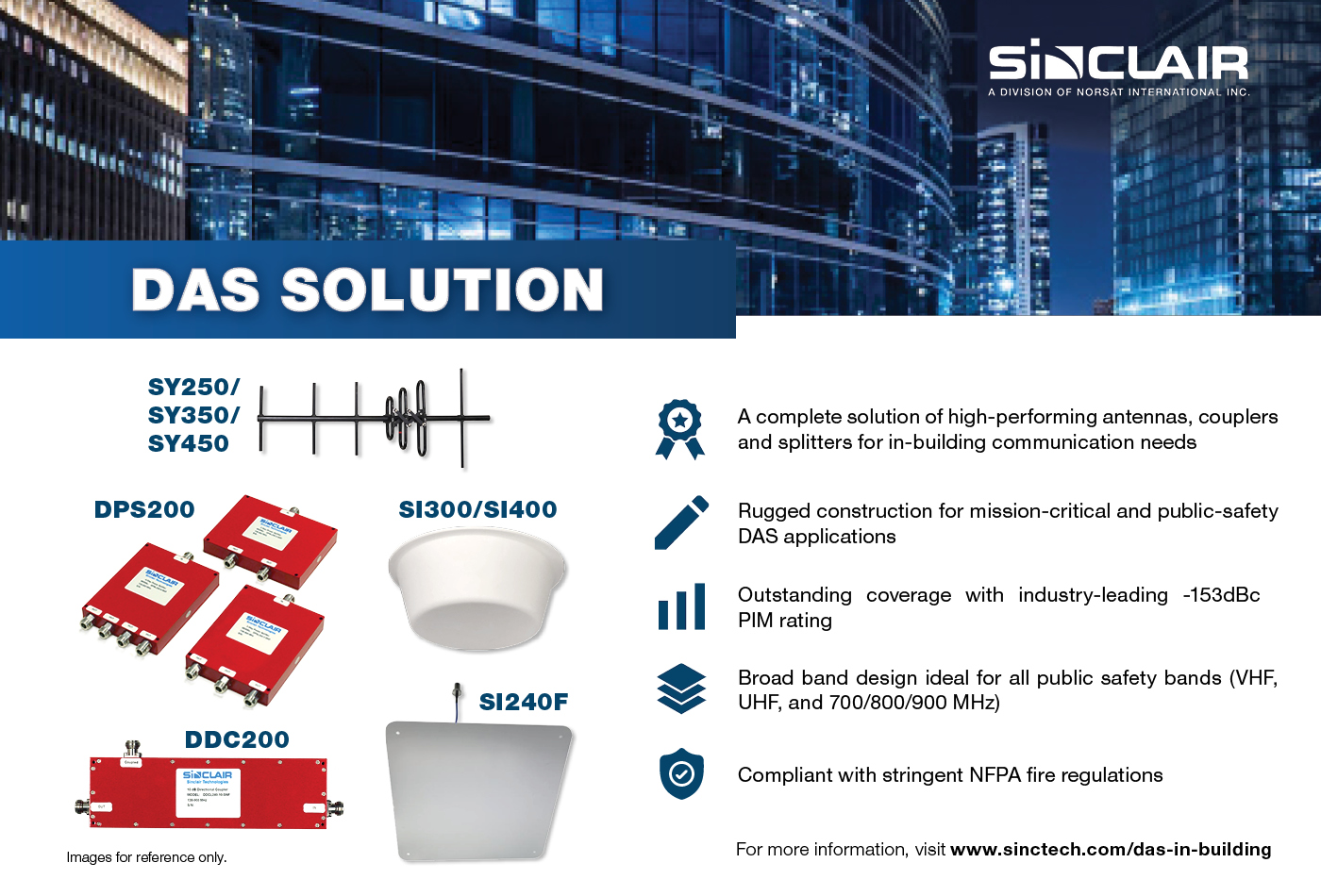 SINCLAIR TECHNOLOGIES' IN-BUILDING DAS S...