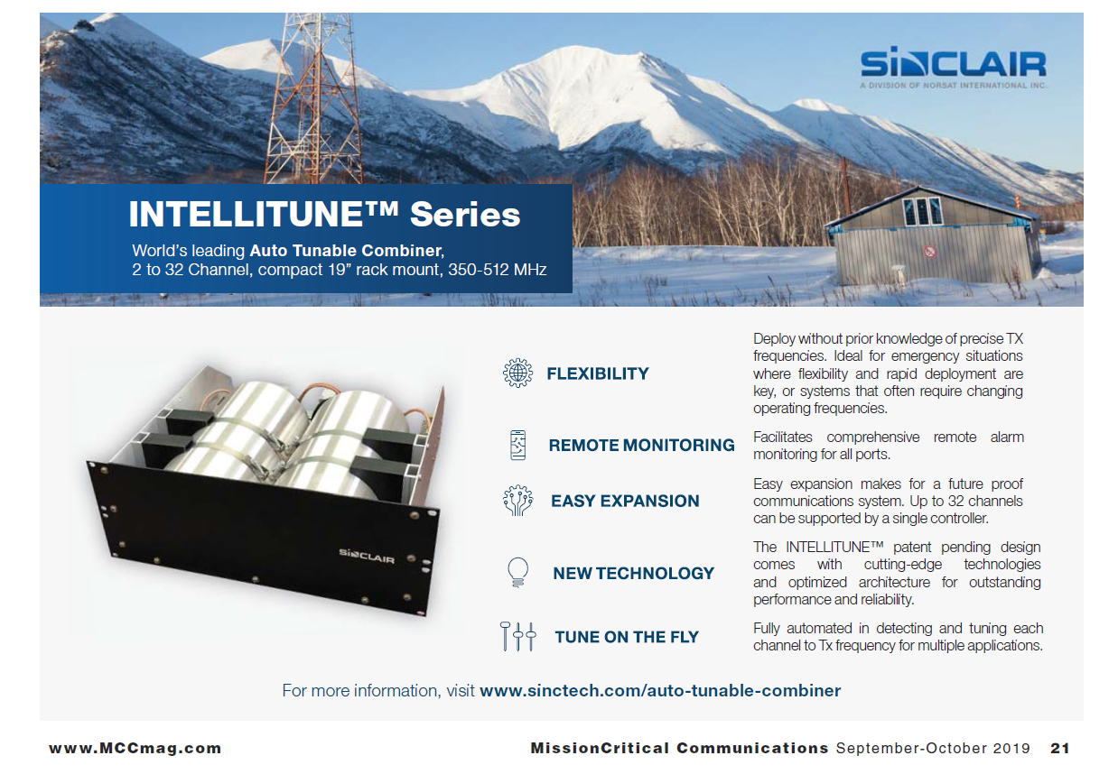 SINCLAIR'S IntelliTUNE™ SERIES